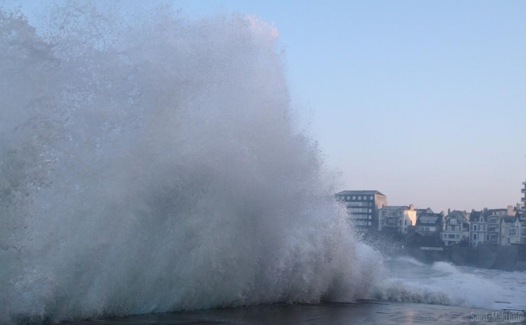 Grande marée 22 janvier 2015